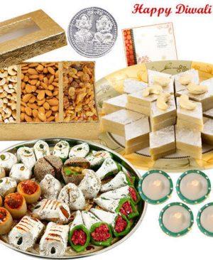 Send Diwali Cakes Chocolates Sweets Dry Fruits to Kishanpur