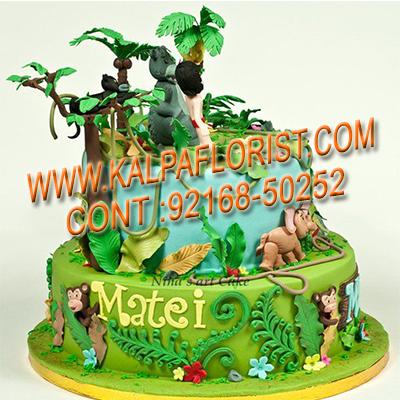 Choco Jungle Cake 2 Kg Kalpa Florist