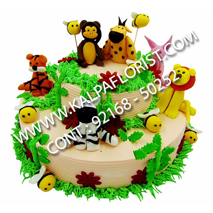Send Chocolate Jungle Cakes To Jalandhar Punjab India