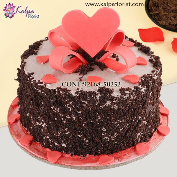 Excellent Online Order Birthday Cake In Jalandhar Kalpa Florist Personalised Birthday Cards Epsylily Jamesorg