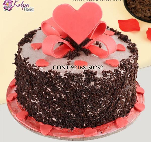 Admirable Order Cake Delivery Near Me Kalpa Florist Personalised Birthday Cards Vishlily Jamesorg