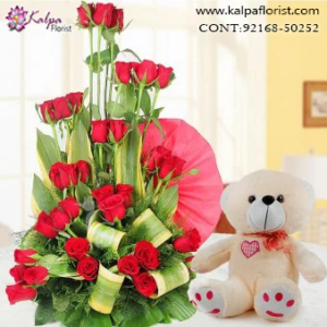 Teddy Bear & Flowers Combos in Jalandhar , Teddy Bear and flowers delivery in Jalandhar, Teddy bear and flowers Delivery in Jalandhar City, Buy Teddy Bear and flowers Online, Teddy bear and flowers Delivery to Jalandhar, Teddy Bear and flowers to Jalandhar,  Charming teddy bear and flowers to Jalandhar, Teddy bear and flowers Delivery in Jalandhar Same Day, Send Teddy bear and flowers Online with home Delivery, Same Day Online Teddy bear and flowers Delivery in Jalandhar, Online Teddy bear and flowers delivery in Jalandhar,  Midnight Teddy Bear and flowers delivery in Jalandhar,  Online shopping for Teddy Bear and flowers to Jalandhar Kalpa Florist