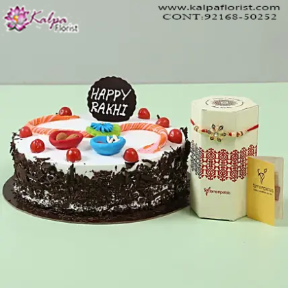 Online Rakhi Gifts For Brother Kalpa Florist