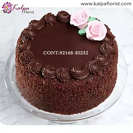 Brilliant Send Birthday Cake Online Kalpa Florist Personalised Birthday Cards Epsylily Jamesorg