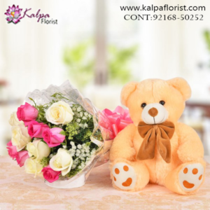 Online Flower & Teddy Bear Delivery in Jalandhar, Teddy Bear and flowers delivery in Jalandhar, Teddy bear and flowers Delivery in Jalandhar City, Buy Teddy Bear and flowers Online, Teddy bear and flowers Delivery to Jalandhar, Teddy Bear and flowers to Jalandhar,  Charming teddy bear and flowers to Jalandhar, Teddy bear and flowers Delivery in Jalandhar Same Day, Send Teddy bear and flowers Online with home Delivery, Same Day Online Teddy bear and flowers Delivery in Jalandhar, Online Teddy bear and flowers delivery in Jalandhar,  Midnight Teddy Bear and flowers delivery in Jalandhar,  Online shopping for Teddy Bear and flowers to Jalandhar Kalpa Florist