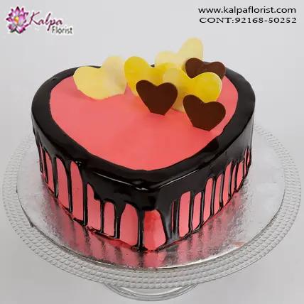 Astounding Send Birthday Cake To Ludhiana India Kalpa Florist Funny Birthday Cards Online Inifodamsfinfo