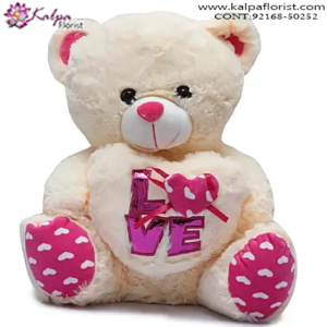 Buy & Send Soft Toys Online, Teddy Bear Online, Send Gifts to Mumbai Online , Teddy Bear Online Purchase, Teddy Bear Online Booking, Buy Teddy Bear Online, Teddy Bear Online in India, Teddy Bear Online Australia, Teddy Bear Online South Africa, Send Teddy bear Online with home Delivery, Same Day Online Teddy bear Delivery in Jalandhar, Online Teddy bear delivery in Jalandhar,  Midnight Teddy Bear delivery in Jalandhar,  Online shopping for Teddy Bear to Jalandhar, Kalpa Florist