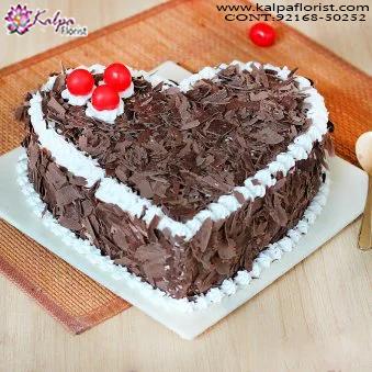 Pleasant Happy Birthday Celebration Cake Kalpa Florist Funny Birthday Cards Online Benoljebrpdamsfinfo