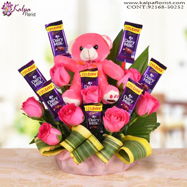 Teddy In A Style Order Gifts Online Mumbai