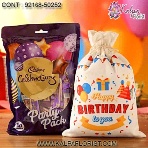 Kalpa Florist offers birthday chocolates online delivery in India. Buy and send chocolates for birthday from our large collection of chocolates.