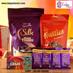 Kalpa Florist is India's Best Online Chocolates Store. Buy Online Chocolates with us online delivery and Cash on Delivery Services. Buy Chocolates for Wedding, Anniversary, Festivals, with Us.