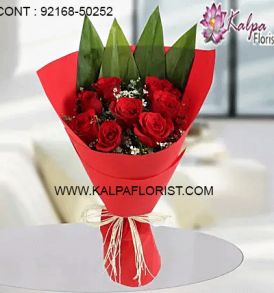 Kalpa Florist is an online florist shop in Jalandhar offers fresh flowers through same day and midnight delivery. call us