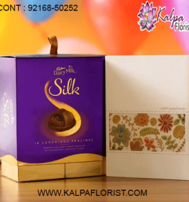 Shop online #chocolates delivery in delhi from Kalpa Florist widest variety of chocolates. You can even buy them online and send these chocolate gifts anywhere in India.