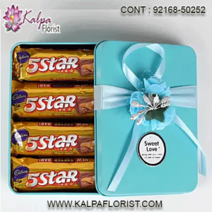 Chocolate For Birthday Gifts and Hampers direct from Kalpa Florist. Choose from our fantastic online range or Make Your Own totally unique hamper online. Next Day Delivery Available.