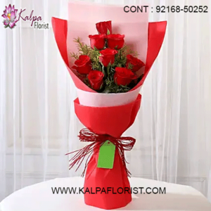 Kalpa Florist offers online flower delivery in India. Get same day delivery of beauty fresh flowers Online. Lowest price guarantee.