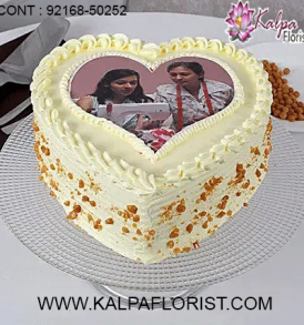 Send Cakes online from best cake shop in India. Kalpa Florist offers online cake order with midnight & same day online cake delivery in India.