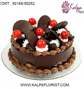 Order cakes online in India from Kalpa Florist, an ideal choice for online cake delivery in India. Send cakes online to India and give surprise to your loved one by same day and midnight delivery services.