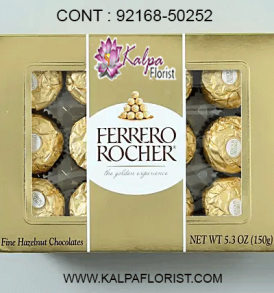 Send Chocolates on Same Day from Kalpa Florist The designer chocolates gifts are available for many special occasions in india