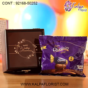 Send Chocolates to Kalpa Florist offers same day online chocolates delivery in Gurgaon on best price. We deliver chocolates hampers, chocolate bouquet, Ferrero Rocher, all Indian & Imported chocolates basket in Gurgaon.