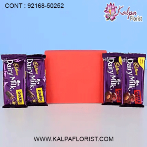 Send chocolate to India from UK with doorstep delivery at Kalpa Florist Get wide range of chocolate and get it delivered from UK to India with ✓Midnight delivery ✓Same Day Delivery. Shop Now!!
