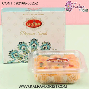 Buy Sweets Online in Mumbai from Kalpa Florist at affordable price. We offer online sweets delivery in Mumbai. Book sweets order for festivals.