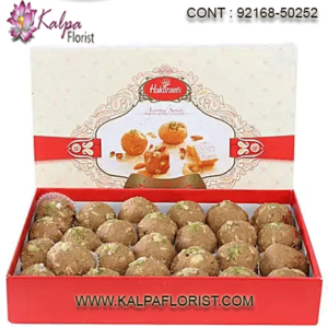 Send Sweets Online To USA - Send fresh and delicious sweets to USA for relatives and friends from Kalpa Florist with Same-Day delivery service. Order Now