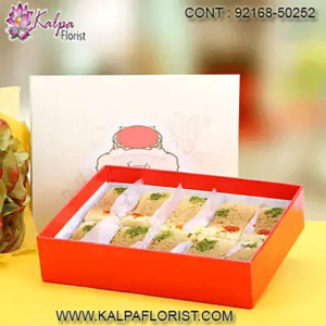 Send fresh and delicious Sweets, Mithai online to UK. Order sweets online and get it delivered to your doorstep anywhere in UK.