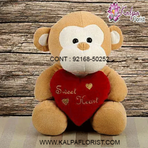 Buy Teddy Bear Online at Kalpa Florist Same Day delivery in India. Shop for cute teddy bears, soft toys, stuffed animals, valentines teddy bear online for kids & girlfriend. Large collection from big teddy bears to small pink teddy bears at best prices.