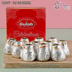 Send all kinds of Indian sweets online in USA with Kalpa Florist. Enjoy a variety of fresh Indian Sweets with your Family and friends at affordable rates.