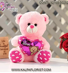 With a large and varied assortment of small and giant teddy bears for delivery, Kalpa Florist is best shop for the perfect customized gift.