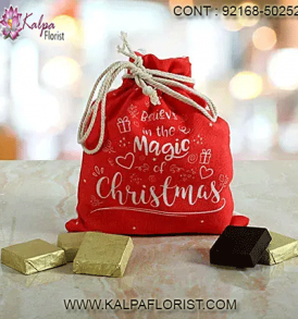 Delicious holiday chocolate gifts from Kalpa Florist are perfect Christmas gifts for chocolate lovers. Explore our collection of gourmet Christmas chocolate gifts.