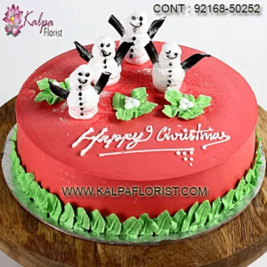 Christmas Cake Order Delivery Mumbai Pune, Send Christmas Cakes Online to Mumbai Pune, Order/Buy Merry Christmas Cakes in India.