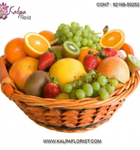 """Send fruit for every occasion this year! Fresh fruit baskets are the perfect way to say """"happy birthday, """"thank you"""" or just because!"""