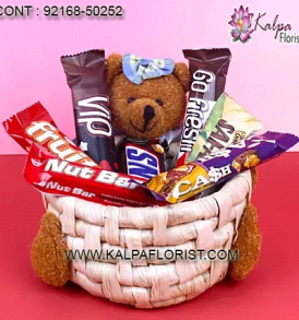 Send new year gift hampers to your dear ones from Kalpa Florist. Order gift hampers for New year with same day home delivery. Order Now!