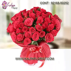 Flower Delivery in Mohali - Send flowers to Mohali online from Kalpa Florist with same day and midnight home delivery. For more details call us.