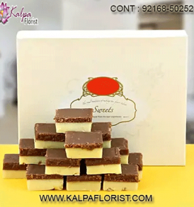 Kalpa Florist is a largest Online Sweet Shop to buy delightful Ghee Sweets, Dry fruit sweets, Traditional sweets, Branded sweets. Taste the difference!!!