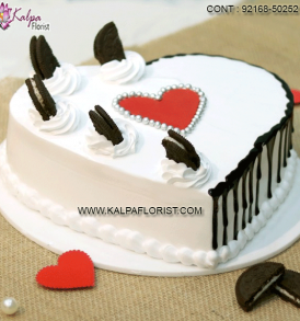 Valentine's Day cakes delivery in India with same day delivery. We offer best quality cake not only on Valentines Day buy also on every special occasion