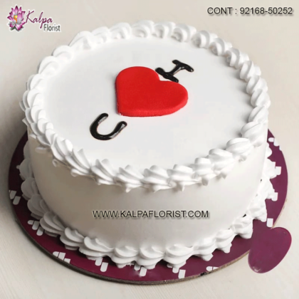 Valentine cake delivery ❤ Here you can find valentine day cakes at affordable prices. Buy/send cake on valentine for your special one
