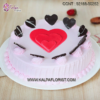 Order delicious and designer valentine day cake online in Delhi NCR with home delivery. Kalpa Florist offers 100% fresh and eggless cakes.
