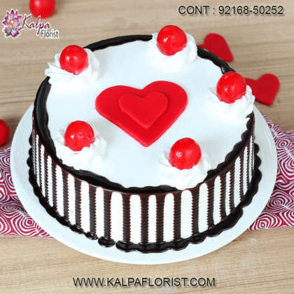 Valentine Cakes – Send Valentine Cakes Online in India from kalpaflorist.com. We provide all types of cakes for Valentine's Day delivery services.