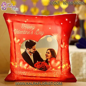 Get unique & perfect valentine day gift ideas for husband with Kalpa Florist. Our range of valentine gifts for husband include personalised cards, mugs, Cushion and more.
