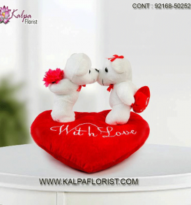 Send unique valentines day gift for new girlfriend at best prices with Kalpa Florist Our range of romantic gifts include cards, mug, teddy bear & more.
