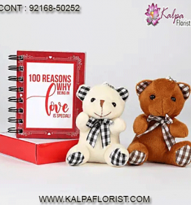 Valentines Day Gifts : Send valentines day gifts online, V day gifts same day delivery from the best online gifting website in India.
