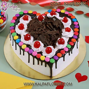 Celebrate Valentines Day with Valentine Cake from Kalpa Florist that has a range of delicious Valentines day cake that you can send in Dubai & across UAE.