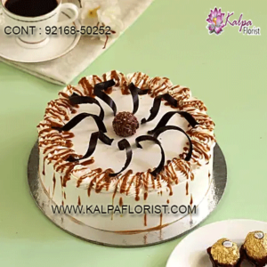 Order Cakes Online in India. Best cakes delivery from anywhere to India. Same Day Delivery & Midnight Delivery at Kalpa Florist.