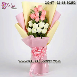 Buy Flowers Online Cheap - Kalpa Florist offers flowers bouquet online in India . Send flowers online to your loved one with the same day & midnight delivery
