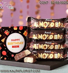 Send Chocolates For Birthday : Kalpa Florist brings the widest range of Chocolates Birthday Gifts so that you can buy them online in India. Order Now