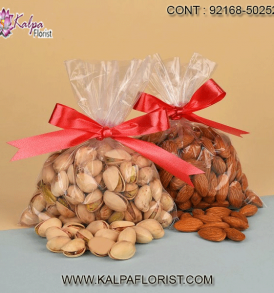 Send Dry Fruits to USA We have included some dry fruits like pistachios, raisins, almonds, cashew nuts, etc. in fancy packaging to add meaning to your thoughtful gift ideas