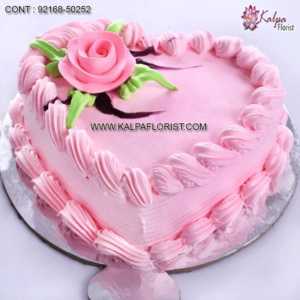 Valentine Cake Design - Buy & Shop Designer & Decorated Cakes for Valentine's Day (14 Feb) from Kalpa Florist Midnight & Same Day Delivery