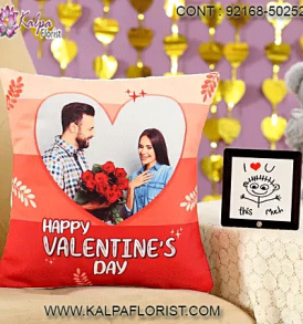 Buy Valentines Gifts online for him or her in India and get exciting deals on Valentine Gifts at Kalpa Florist. This Valentine's Day 2020 Surprise.